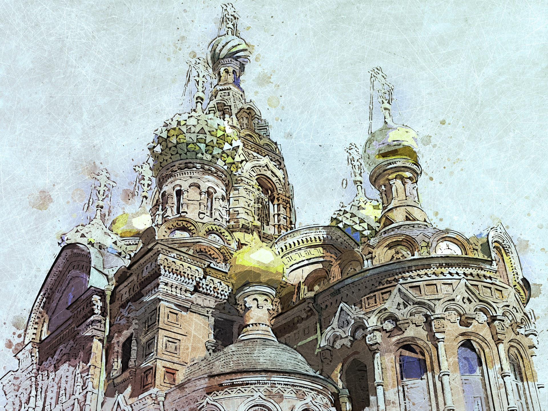 Image of St Petersburg cathedral
