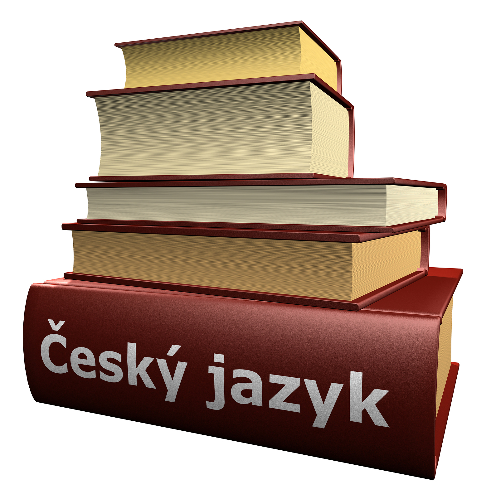 picture of Czech language books