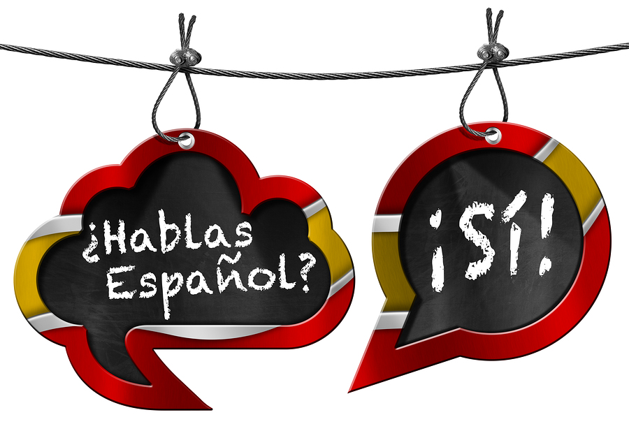 Do you speak Spanish? image