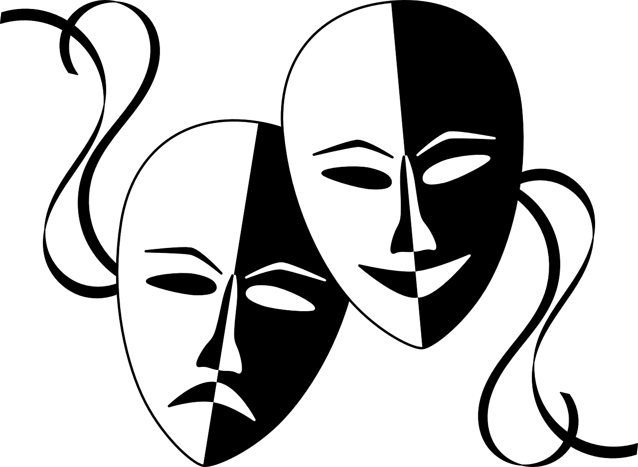image of theatre masks