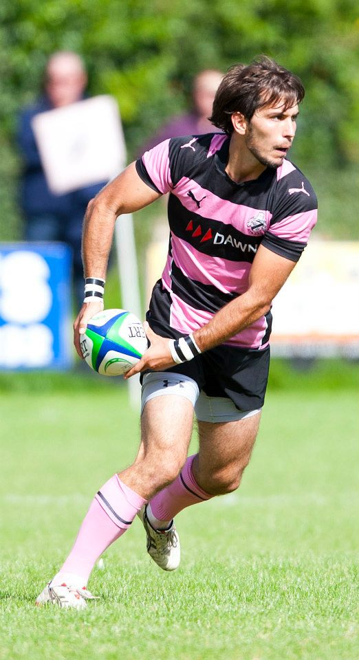 photo of Sylvain Diez playing rugby