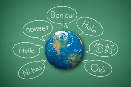 World 'hello' languages
