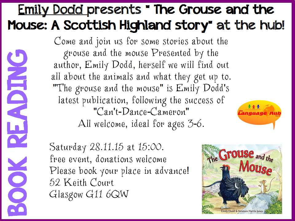 The Grouse and the Mouse - 28 11 15
