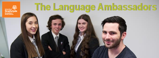 Language Ambassadors at Strathclyde photo