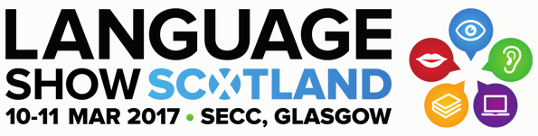 Language Show Live Scotland logo