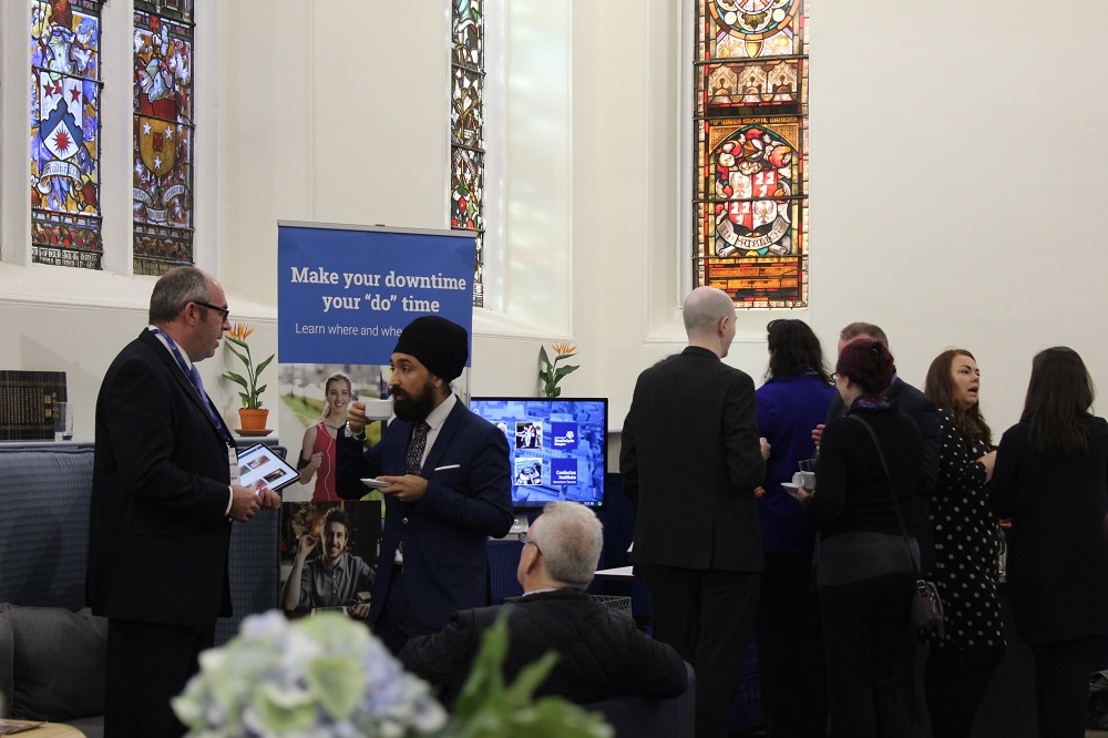 Networking at the Making languages your business event
